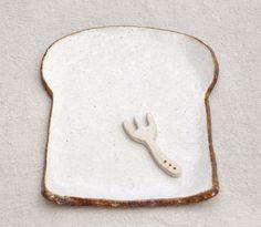 食パンの皿(レギュラーサイズ)
