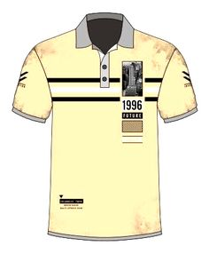 New T Shirt Design, Shirt Designs, Polo Tees, Polo Shirt, What Is Anxiety Disorder, Boys T Shirts, Vintage Inspired, Print Design, Moda Masculina