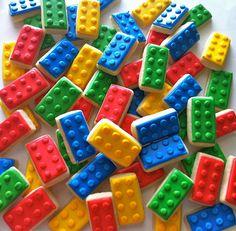 Fun lego cookies