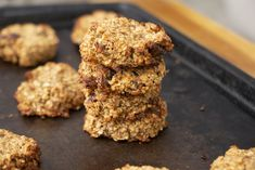 Whole Food Recipes, Snack Recipes, Dessert Recipes, Cooking Recipes, Desserts, Vegan Recipes, Oatmeal Breakfast Cookies, Healthy Oatmeal Cookies, Recipes