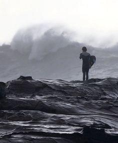 Avoca Beach in Sydney during a storm