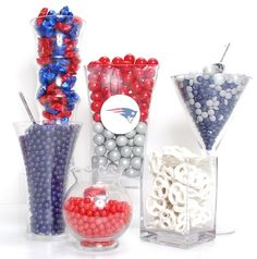 New England Patriots Candy Buffet Kit