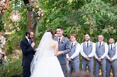 Outdoor Ceremony View From Brides Side Chandelier on Wooden Arbor with Flowers   Chico-Wedding-Photographer-Private-Estate-Northern-California-TréCreative
