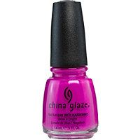 China Glaze - Nail Lacquer with Hardeners in Purple Panic #ultabeauty
