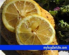 Lite Lemon Chicken | HCG Recpies