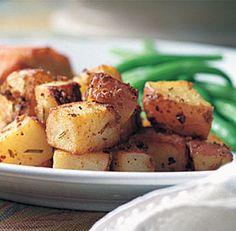 Mustard & Rosemary Roasted Potatoes