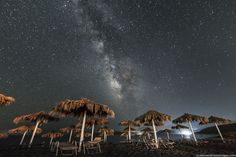 https://flic.kr/p/xNY9TV | Summer Never Ends | The Milky Way rises over the 5km long sandy beach of Mavrovouni, at Gytheio in Mani, Laconia, Peloponnese, Greece. © alexandrosmaragos.com