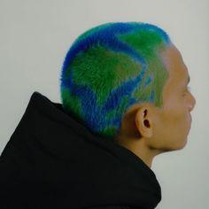 Arctic Fox Dye, Arctic Fox Hair Color, Dyed Hair Men, Dye My Hair, Shaved Head Designs, Buzzed Hair, Shave My Head, Men Hair Color, Aesthetic Hair