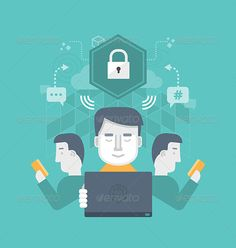 Secure Internet Communication - Technology Conceptual