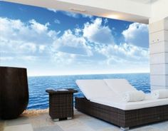 Silent Ocean Wallpaper Mural from Red Candy