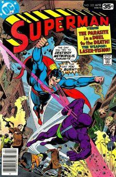 Parasite - Superman Vs The Parasite - Metropolis - Laser Vision - Dc Comics