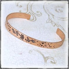Personalize It Your Way Hand Stamped by glasstastictreasures, $15.00