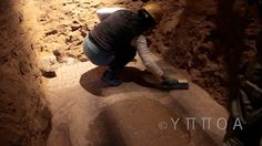 The first ever video footage from the interior of the Amphipolis tomb and Alexander-era Ancient Greek site was released earlier today by the Greek Culture Ministry reveling new details of the ancient Greek tomb. Greek Culture, First Ever, New Details, Ancient Greek, The One, Watch, Bracelet Watch, Clocks