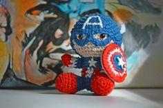 amigurumi captain America