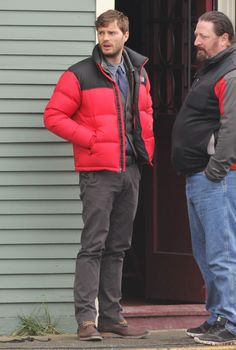 Jamie Dornan returns to the set of ONCE UPON A TIME -  January 31st, 2013. http://everythingjamiedornan.com/gallery/thumbnails.php?album=279 http://www.facebook.com/everythingjamiedornan