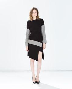 ASYMMETRIC SARONG SKIRT - Zara $79.90