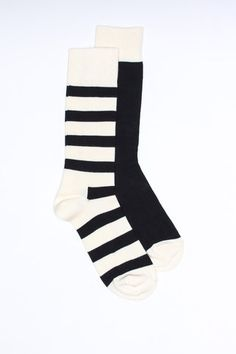 Black & White Socks