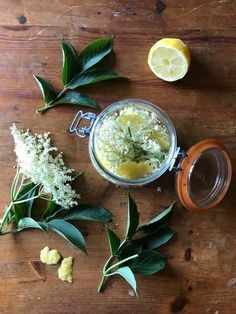Ready to make Elderflower Gin Gin Mixers, Gin Ingredients, Rhubarb Gin, Elderflower Cordial, Wild Garlic, Lemon Cupcakes, Recipe Using, Stuffed Mushrooms, Food And Drink