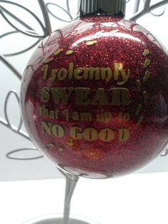 Harry Potter Christmas ornament - 15 Really Cool Christmas Tree Ornaments