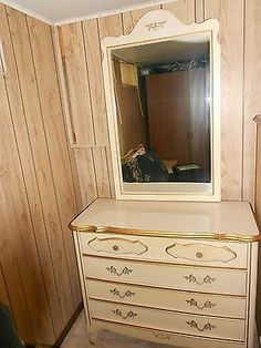 sears french provincial bedroom set didnt have the mirror only the dresser - Sears Bedroom Decor