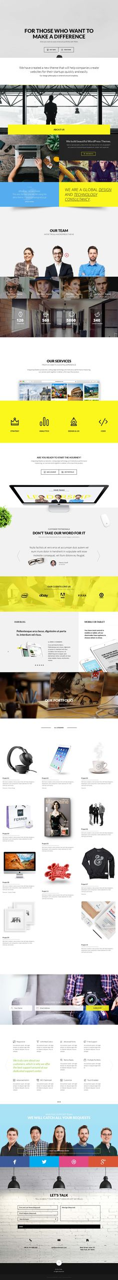 Troia — Responsive One/Multi Page Theme