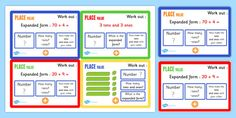 Make maths fun with these place value challenge cards! Featuring a different challenge on every card, students can revise what they know about place value. Working Wall Display, Maths Working Wall, Interactive Activities, Kids Learning Activities, Hands On Activities, Math Challenge, Challenge Cards, Maths Display, Learning Support