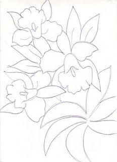 Artes da Nil - Riscos e Rabiscos: Orquideas                                                                                                                                                      Más