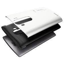 LG G4 Kılıf, Spigen Slim Amor - Shimmery White