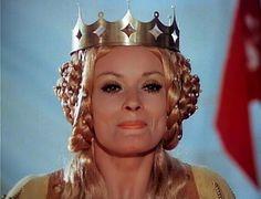 Noc na Karlštejně 1973 Jana Brejchová Crown, Film, Celebrities, Czech Republic, Fashion, Movie, Moda, Film Stock, Fashion Styles