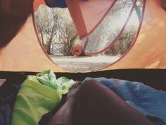 #campsite #orange