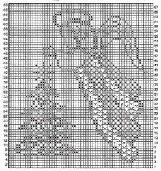 A trunk with artistic handicrafts: Christmas tree crocheting Bobble Crochet, Crochet Mat, Crochet Carpet, Thread Crochet, Crochet Doilies, Knitted Christmas Decorations, Christmas Crochet Patterns, Holiday Crochet, Christmas Knitting