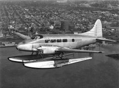 rare alaskan aircraft | The De Havilland DH.104 Dove on Floats!