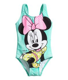 I know a little girl who would love this Ninnie suit :) H&M Swimsuit with Printed Design $14.95