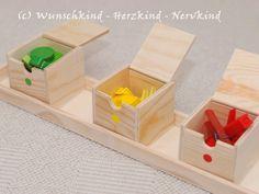 Wunschkind - Herzkind - Nervkind: Die Benennung der Farben