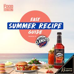 Enjoy the taste of summer with The District Kitchen complimentary summer recipe guide featuring 21+ cooking ideas from delicious drinks to fresh appetizers. Easy Summer Meals, Summer Recipes, Recipe Guide, Yummy Drinks, Cooking Ideas, Appetizers, Fresh, Kitchen, Food