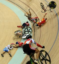 Velodrome Crash.
