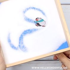 Magnetic Ice Skating Penguin Letter Writing - New Ideas Winter Crafts For Kids, Winter Fun, Winter Theme, Art For Kids, Hello Winter, Winter Activities, Writing Activities, Preschool Activities, Letter Writing