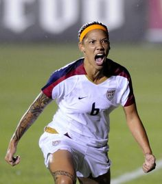 6361a363543 USWNT s Natasha Kai celebrates after scoring a goal against the Australian  Women s National Team during an international friendly match April at  WakeMed ...