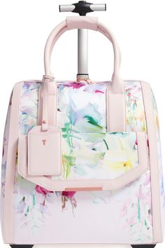 Ted Baker London 'Hallema - Hanging Gardens' Travel Bag available at Cute Suitcases, Cute Luggage, Simple Bags, Travel Accessories, Travel Bags, Travel Luggage, Malm, Purses And Bags, Women's Bags
