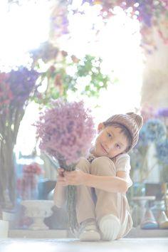 キッズフォト Baby Art, Color Photography, Children Photography, Cute Kids, Cute Animals, Portraits, Photoshoot, Spring, Birthday