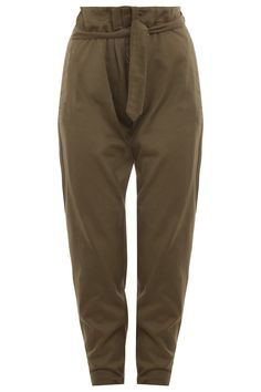 Jules High Waisted With Belt Trousers By ISABEL MARANT @ http://www.boutique1.com/