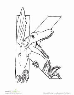 Dino V  Preschool dinosaur Vs and Kindergarten