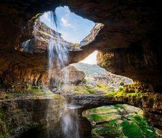 Inside Baatara Pothole Cave, Lebanon - Waterfalls & Nature Background Wallpapers on Desktop Nexus (Image 1712673)