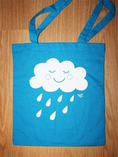 Wolkentasche Hellblau von Tante_Tin