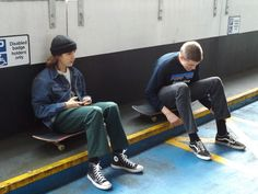 cool kids #mode #skate #menswear #streetwear #fashion
