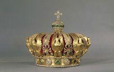 Alexandre-Gabriel LEMONNIER (1808-1884) Empress Eugénie's Crown, 1855,  Paris, France.