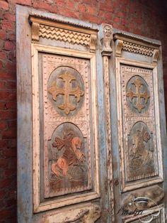 Interior design | decoration | home decor | furniture | Antique doors - Antique set doors - Old building materials - Burbri