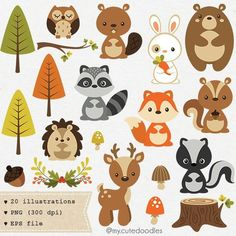 Woodland clipart mignon animal woodland woodland crche bb douche fournitures dcoration fte woodland clipart renard mignon bb ours Clipart Baby, Cute Clipart, Cute Animal Clipart, Woodland Party, Woodland Nursery, Fox Nursery, Forest Nursery, Forest Animals, Woodland Animals