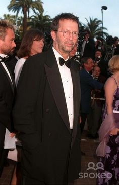 08MAY97: ERIC CLAPTON at the 1997 Cannes Film Festival.