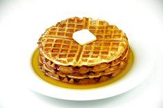 Como hacer wafles, la receta de gofres (el desayuno perfecto!) Más recetas! >> recetasamericanas.com
